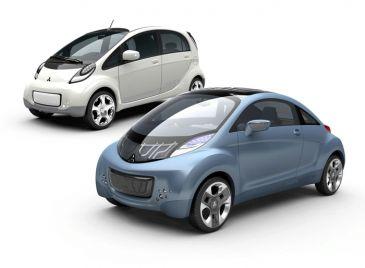 De elektrische Mitsubishi i MiEV