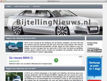 Autozonderwegenbelasting.nl brengt BijtellingNieuws.nl online!