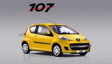 Spectaculaire prijsdaling en nieuwe uitvoering Peugeot 107