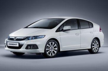 Honda Insight vernieuwd: 5 gram CO2 minder