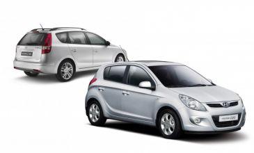 Hyundai i20 en i30 zonder wegenbelasting tot 2014