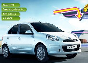 Nissan Micra 1.2. Maak nu een proefrit!