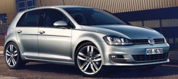 Nieuwe, zuinigere versie van de Volkswagen Golf