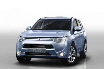 Mitsubishi Outlander PHEV en andere hybrides erg populair